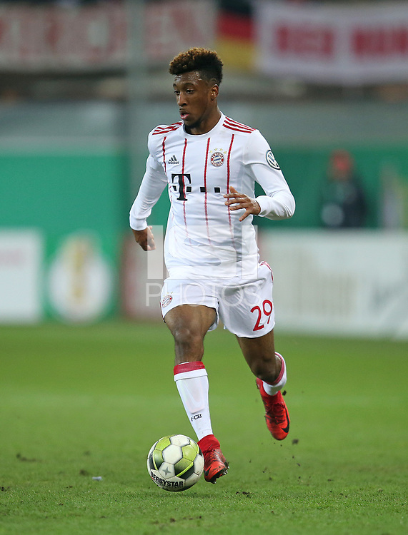 06.02.2018, Football DFB Pokal 2017/2018,   SC Paderborn 07 - FC Bayern Muenchen, in Benteler-Arena Paderborn. Kingsley Coman (Bayern Muenchen)  *** Local Caption *** &copy; pixathlon<br /> <br /> +++ NED + SUI out !!! +++<br /> Contact: +49-40-22 63 02 60 , info@pixathlon.de