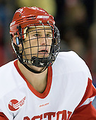 Ryan Ruikka (BU - 2) made his playing debut as a Terrier after suffering season-ending injuries prior to the last two seasons. - The Boston University Terriers defeated the visiting University of Toronto Varsity Blues 9-3 on Saturday, October 2, 2010, at Agganis Arena in Boston, MA.