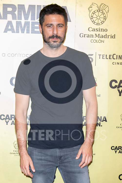 "Spanish actor Hugo Silva attend the Premiere of the movie ""Carmina y Amen"" at the Callao Cinema in Madrid, Spain. April 28, 2014. (ALTERPHOTOS/Carlos Dafonte)"