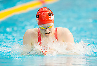 Picture by Allan McKenzie/SWpix.com - 13/12/2017 - Swimming - Swim England Winter Championships - Ponds Forge International Sport Centre - Sheffield, England - Rosie Rudin races to silver in the womens open 400m individual medley.