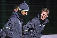 16.11.2015: Abschlusstraining Nationalmannschaft in Hannover