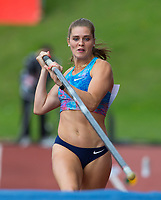Alysha NEWMAN of Canada in the Pole Vault during the Muller Grand Prix Birmingham Athletics at Alexandra Stadium, Birmingham, England on 20 August 2017. Photo by Andy Rowland.