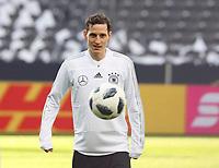 Sebastian Rudy (Deutschland Germany) - 26.03.2018: Abschlusstraining der Deutschen Nationalmannschaft, Olympiastadion Berlin