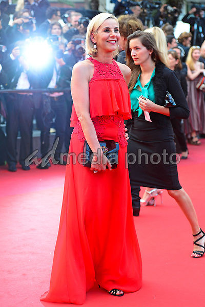 "25 May 2017 - Cannes, France - Laurence Ferrari. ""Twin Peaks"" Premiere - The 70th Annual Cannes Film Festival. Photo Credit: Jan Sauerwein/face to face/AdMedia"
