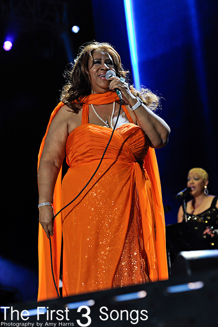 Aretha Franklin performs at the 2012 Essence Music Festival on July 8, 2012 in New Orleans, Louisiana at the Louisiana Superdome.