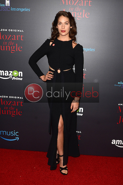 "Lola Kirke<br /> at the ""Mozart In The Jungle"" Special Screening and Concert, The Grove, Los Angeles, CA 12-01-16<br /> David Edwards/DailyCeleb.com 818-249-4998"