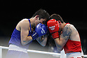Arashi Morisaka (JPN), Javid Chalabiyev (AZE),<br /> AUGUST 10, 2016 - Boxing : <br /> Men's Bantam (56kg) <br /> at Riocentro - Pavilion 6 <br /> during the Rio 2016 Olympic Games in Rio de Janeiro, Brazil. <br /> (Photo by Koji Aoki/AFLO SPORT)
