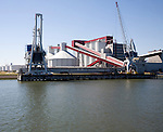 Borax bulk carrier terminal and storage plant, Port of Rotterdam, Netherlands