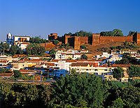 Portugal, Algarve, Silves: Stadt mit maurischer Festung | Portugal, Algarve, town Silves with moorish fortress