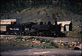 D&amp;RGW #498 at Gato.<br /> D&amp;RGW  Gato (Pagosa Junction), CO