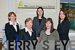 The MIG commercial team, from l-r: Sarah Hanarahan, Helen Buckley, Sinead.Kennedy, Caitriona Diggins-Buckley and Michelle Ryan.   Copyright Kerry's Eye 2008