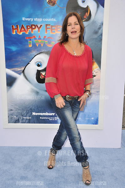 "Marcia Gay Harden at the world premiere of ""Happy Feet Two"" at Grauman's Chinese Theatre, Hollywood..November 13, 2011  Los Angeles, CA.Picture: Paul Smith / Featureflash"