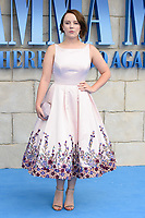 Alexa Davies arriving for the &quot;Mama Mia! Here We Go Again&quot; world premiere at the Eventim Apollo, Hammersmith, London, UK. <br /> 16 July  2018<br /> Picture: Steve Vas/Featureflash/SilverHub 0208 004 5359 sales@silverhubmedia.com