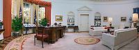 Oval Office Replica, Reagan Presidential Library, Panorama,   Simi Valley California