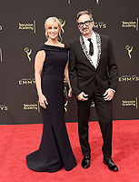 LOS ANGELES - SEPTEMBER 15: Conny Marinos and Peter Gurski attend the 2019 Creative Arts Emmy Awards at the Microsoft Theatre LA Live on September 15, 2019 in Los Angeles, California. (Photo by Scott Kirkland/PictureGroup)