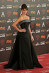 Spanish actress Penelope Cruz attends 30th Goya Awards red carpet in Madrid, Spain. February 06, 2016. (ALTERPHOTOS/Victor Blanco)