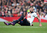 Tottenham's Kyle Walker goes off injured during the Premier League match at the Emirates Stadium, London. Picture date November 6th, 2016 Pic David Klein/Sportimage