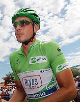 John Degenkolb before the stage of La Vuelta 2012 between Lleida-Lerida and Collado de la Gallina (Andorra).August 25,2012. (ALTERPHOTOS/Paola Otero) /NortePhoto.com<br /> <br /> **CREDITO*OBLIGATORIO** <br /> *No*Venta*A*Terceros*<br /> *No*Sale*So*third*<br /> *** No*Se*Permite*Hacer*Archivo**<br /> *No*Sale*So*third*
