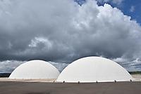 BRASÍLIA, DF, 04.04.2017 – JULGAMENTO-CHAPA DILMA/TEMER – O prédio do STE Brasília na manhã desta terça-feira, 04.(Foto: Ricardo Botelho/Brazil Photo Press)