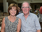 Peter and Ann Nevin pictured at the Ledwidge day in Tankardstown House. Photo:Colin Bell/pressphotos.ie