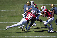 STANFORD, CA - September 15, 2018: Bobby Okereke at Stanford Stadium. The Stanford Cardinal defeated UC Davis, 30-10.