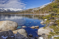One of the best views of Lake Tahoe from one of the most scenic areas-Sand Harbor State Park, Nevada.