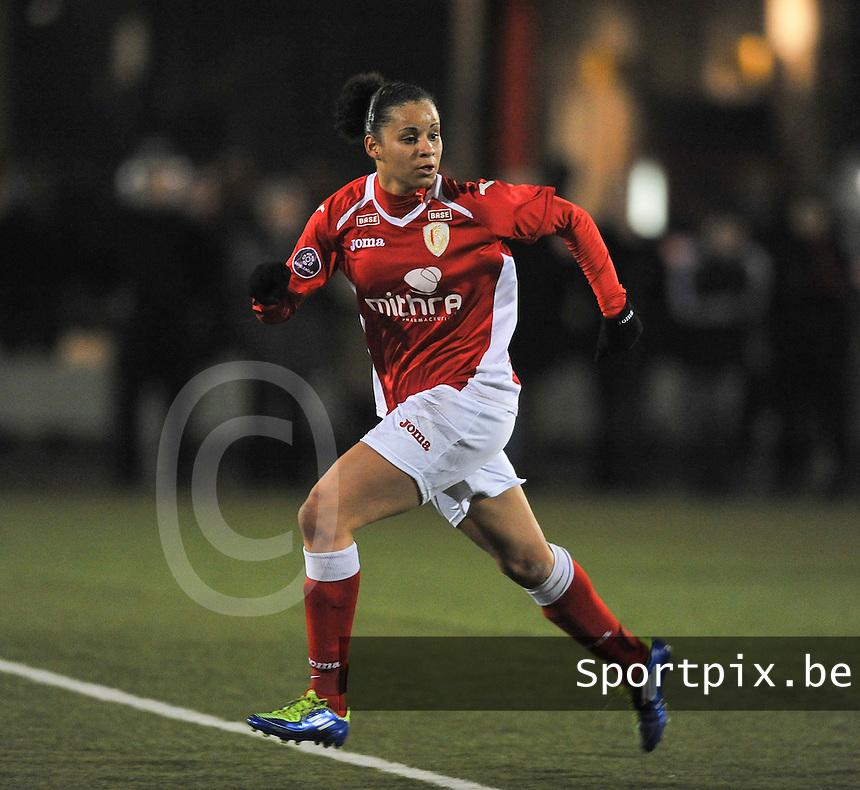 RSC Anderlecht - Standard Femina : Cindy Thomas.foto DAVID CATRY / Vrouwenteam.be