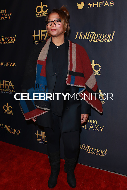 HOLLYWOOD, LOS ANGELES, CA, USA - NOVEMBER 14: Queen Latifah arrives at The Hollywood Reporter's 18th Annual Hollywood Film Awards After Party held at the W Hollywood on November 14, 2014 in Hollywood, Los Angeles, California, United States. (Photo by David Acosta/Celebrity Monitor)