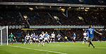James Tavernier fires in a free kick