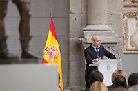 Spanish Culture Minister Ignacio Wert attends Velazquez Visual Arts Award ceremony at Prado Museum in Madrid, Spain. November 17, 2014. (ALTERPHOTOS/Victor Blanco)
