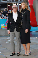 Dee Ocleppo &amp; Tommy Hilfiger at the opening night gala of The Rolling Stones' &quot;Exhibitionism&quot; at the Saatchi Gallery. <br /> April 4, 2016  London, UK<br /> Picture: James Smith / Featureflash