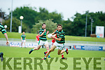 In Action Brendan's Kevin Shanahan   at the Garvey's Supervalu Senior County Football Championship - Round 3 St. Brendan's V East Kerry at Austin Stack Park on Saturday