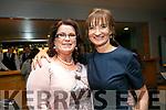 Enjoying the Caherleaheen NS Fashion Show at Ballyroe Hotel on Thursday were Joan Ahern and Principal Mary Connolly