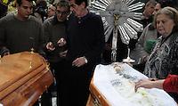 SAO PAULO, SP, 21.06.2014 - ENTERRO EX GOLEIRO OBERDAN CATTANI - Enterro do ex-goleiro do Palmeiras, Oberdan Cattani, realizado no Cemitério São Paulo, no bairro de Pinheiros, na Zona Oeste de São Paulo, SP, neste sábado (21). Oberdan faleceu nesta sexta-feira (20), às 23h25, no Hospital do Servidor Público. A causa do óbito foi uma infecção pulmonar.(Foto: Kevin David - Brazil Photo Press).