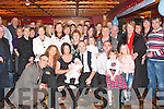 NEW ARRIVAL: Proud parents John and Eileen Flynn, Castleisland (seated centre) who had their baby son Sean Christened on Sunday and enjoyed a lovely evening in the River Island hotel afterwards with family and friends.   Copyright Kerry's Eye 2008