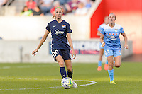 Bridgeview, IL, USA - Sunday, May 29, 2016: Sky Blue FC midfielder Sarah Killion (16) during a regular season National Women's Soccer League match between the Chicago Red Stars and Sky Blue FC at Toyota Park. The game ended in a 1-1 tie.