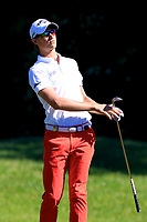 Thomas Detry (BEL) during the second round of the Lyoness Open powered by Organic+ played at Diamond Country Club, Atzenbrugg, Austria. 8-11 June 2017.<br /> 09/06/2017.<br /> Picture: Golffile | Phil Inglis<br /> <br /> <br /> All photo usage must carry mandatory copyright credit (&copy; Golffile | Phil Inglis)