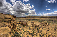Above Pueblo Bonito - New Mexico<br />