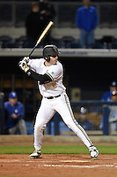 Vanderbilt Commodores outfielder Kyle Smith (39) at bat during a game against the Indiana State Sycamores on February 20, 2015 at Charlotte Sports Park in Port Charlotte, Florida.  Vanderbilt defeated Indiana State 3-2.  (Mike Janes/Four Seam Images)