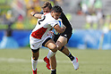Kazuhiro Goya (JPN), <br /> AUGUST 9, 2016 - / Rugby Sevens : <br /> Men's Pool Round <br /> between New Zeland 12-14 Japan <br /> at Deodoro Stadium <br /> during the Rio 2016 Olympic Games in Rio de Janeiro, Brazil. <br /> (Photo by Yusuke Nakanishi/AFLO SPORT)