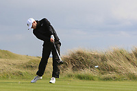 Marc Boucher (Carton House) on the 16th tee during Round 4 of The East of Ireland Amateur Open Championship in Co. Louth Golf Club, Baltray on Monday 3rd June 2019.<br /> <br /> Picture:  Thos Caffrey / www.golffile.ie<br /> <br /> All photos usage must carry mandatory copyright credit (© Golffile | Thos Caffrey)