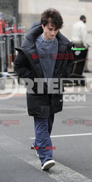11 de abril 2012: En set de Kill Your Darlings, Daniel Radcliffe, de Nueva York, Nueva York. (*Foto:&copy;MPI15/Mediapunchinc/NortePhoto.com*)<br /> **SOLO*VENTA*EN*MEXiCO**