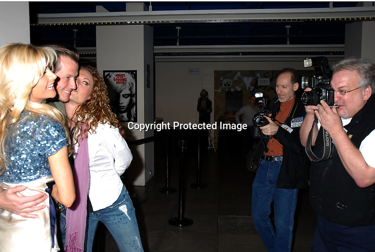 Brande Roderick, Corin Nemec and Jerri Mathey ..at Mike Carbonaro's Big Apple Comic Book, Art, Toy and Sci-Fi Expo on March 31, 2006 at The Penn Plaza ..Pavilion. ..Robin Platzer, Twin Images