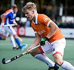 UTRECHT - Jasper Brinkman (Bldaal)  tijdens de hockey hoofdklasse competitiewedstrijd heren:  Kampong-Bloemendaal (3-3). COPYRIGHT KOEN SUYK