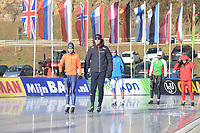 SPEED SKATING: COLLALBO: Arena Ritten, 11-01-2019, ISU European Speed Skating Championships, training, ©photo Martin de Jong