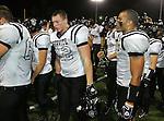 Servite @ Notre Dame - Sherman Oaks (CIF Southern Section).Austin Niklas (42) AND Dennis Shoemate (3).Notre Dame High School Stadium.Sherman Oaks, CA (Los Angeles) - October 5, 2007.KN1R8471.CREDIT: Dirk Dewachter