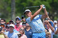Rickie Fowler (USA) watches his tee shot on 3 during round 1 of The Players Championship, TPC Sawgrass, at Ponte Vedra, Florida, USA. 5/10/2018.<br /> Picture: Golffile | Ken Murray<br /> <br /> <br /> All photo usage must carry mandatory copyright credit (&copy; Golffile | Ken Murray)