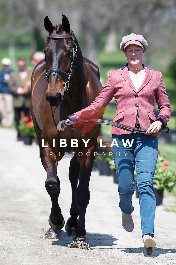 GBR-Nicola Wilson (WATERMILL VISION) THE JOG: 2015 USA-Rolex Kentucky Three Day Event CCI4* (Wednesday 22 April) CREDIT: Libby Law COPYRIGHT: LIBBY LAW PHOTOGRAPHY