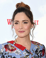 LOS ANGELES, CA - FEBRUARY 03: Actor Rose Byrne arrives at the Premiere Of Columbia Pictures' 'Peter Rabbit' at The Grove on February 3, 2018 in Los Angeles, California.<br /> CAP/ROT/TM<br /> &copy;TM/ROT/Capital Pictures