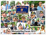Merrick Memorial Day Parade and Ceremony hosted by American Legion Post 1282, on Monday, May 28, 2012, on Long Island, New York, USA. America's war heroes are honored on this National Holiday.
